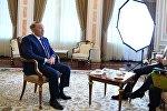 Встреча президента Казахстана Нурсултана Назарбаева с представителями National Geographic