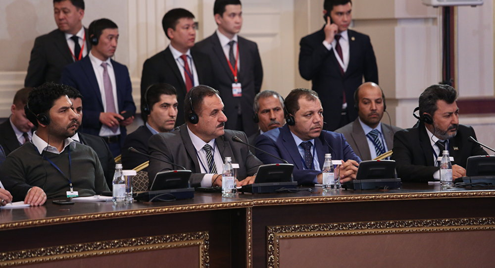 Переговоры по Сирии в Астане