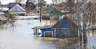Паводок в Северо-Казахстанской области, архивное фото