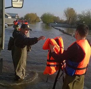 Затопленный поселок Заречный