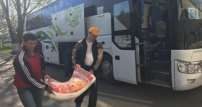 Гуманитарная помощь прибыла в СКО