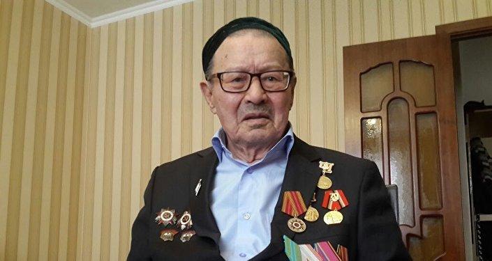 Ветеран войны Ахат Бекмади