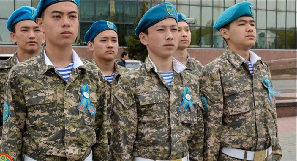 Казахстанская лента Победы