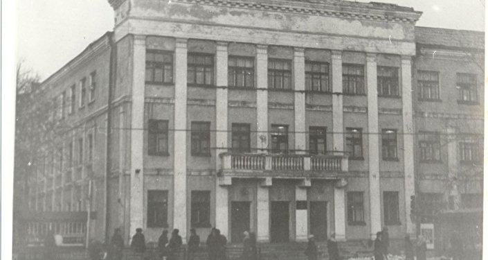 Эвакуационные госпитали времен ВОВ в Караганде