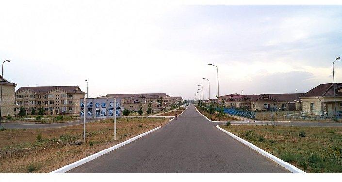 Поселок Нуркент в Алматинской области