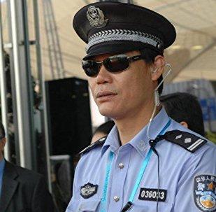 Архивное фото полиции в Китае