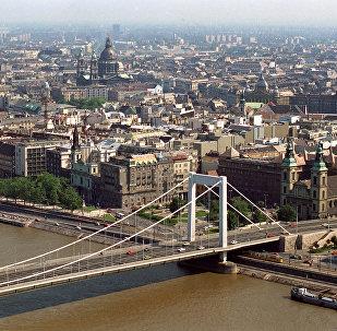Архивное фото панорамы Будапешта