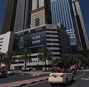 Архивное фото такси в ОАЭ