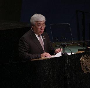 Министр иностранных дел РК Ерлан Идрисов