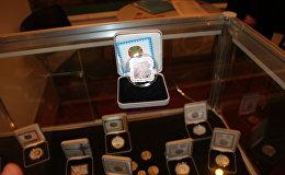 Экспозиция Казахстана на международной выставке монет COINS-2016 в Москве