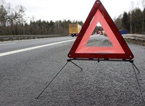 Знак аварийной остановки на дороге
