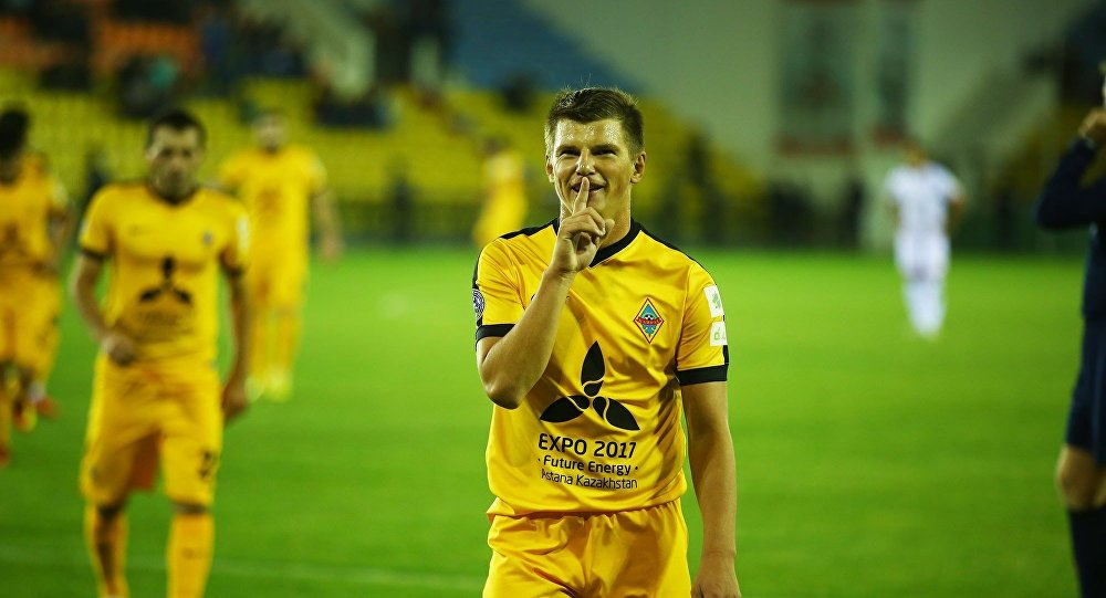 Аршавин помог «Кайрату» выйти вфинал Кубка Казахстана