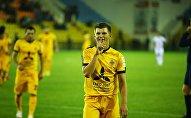 Футболист Андрей Аршавин на матче между Кайратом и Актобе