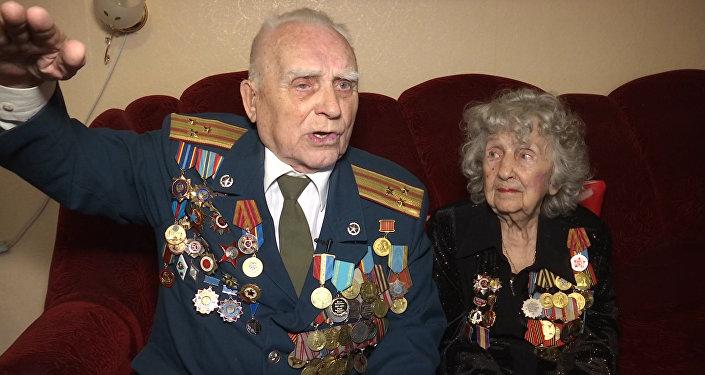 Боевые товарищи и бриллиантовая чета Николай и Татьяна Пастуховы
