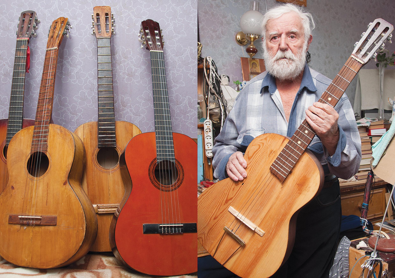 Филимон Запорожец и гитары