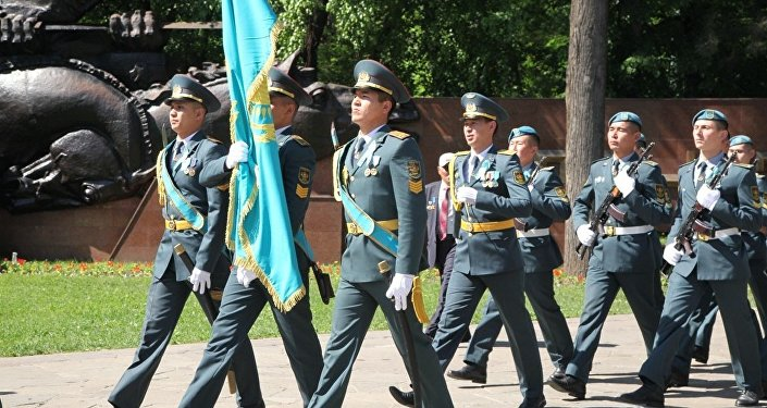 День Победы в Алматы