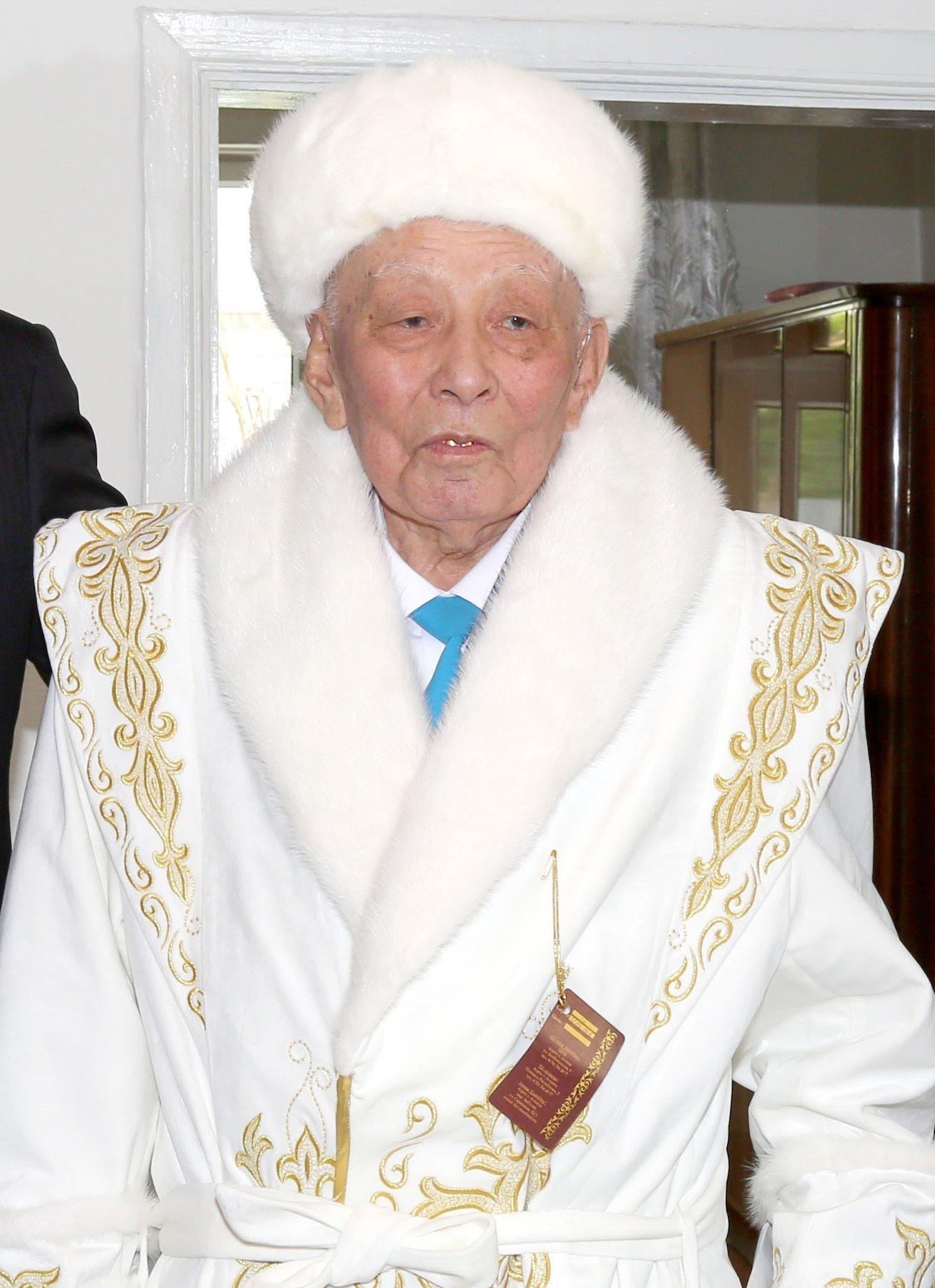Ветеран Великой Отечественной войны Сейтхан Исаев