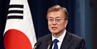 Оңтүстік Корея президенті Мун Чже Ин, архивтегі фото