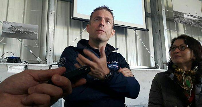 Пилот первого в мире самолета на солнечных батареях Рафаэль Домжан