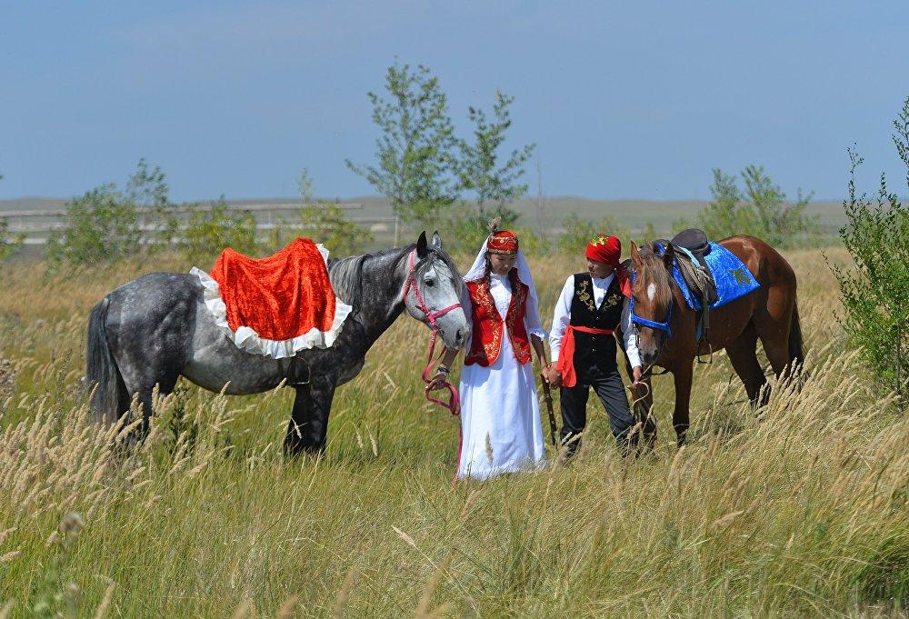 Праздник казахской культуры Туган Жер в Челябинской области