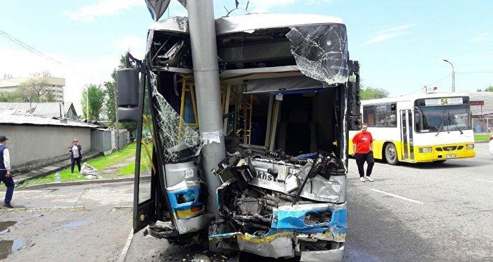 ДТП: Гелендваген-Автобус
