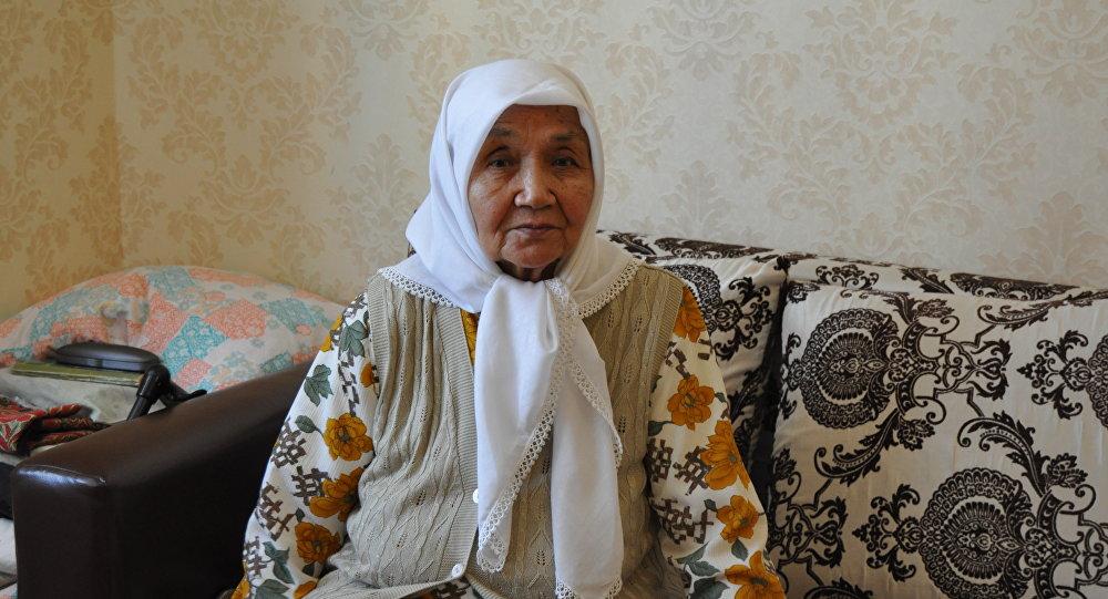 Вернувшаяся на историческую родину казашка Фазила Жаналтай