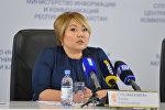 Вице-министр образования и науки РК Эльмира Суханбердиева