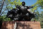 Мемориал Славы в парке 28 панфиловцев в Алматы