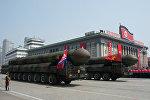 Архивное фото межконтинентальных баллистических ракет КНДР