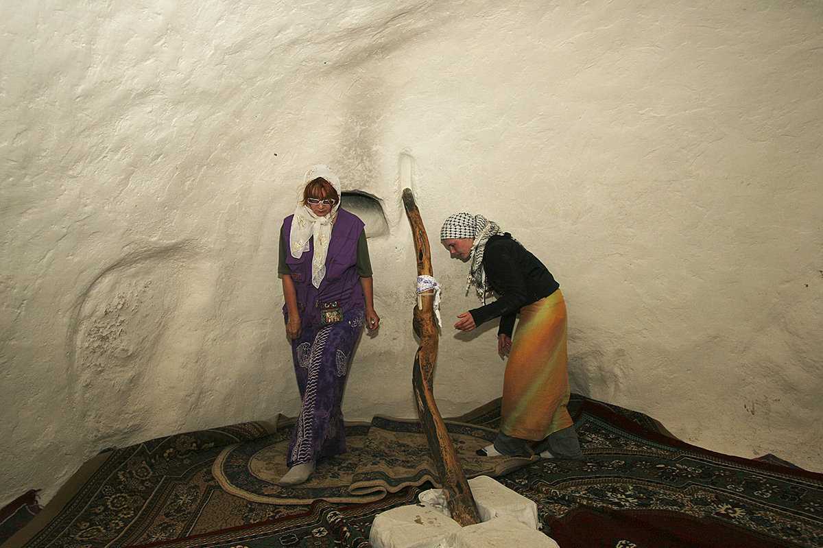 Вход в одну из комнат мечети открыт только для женщин