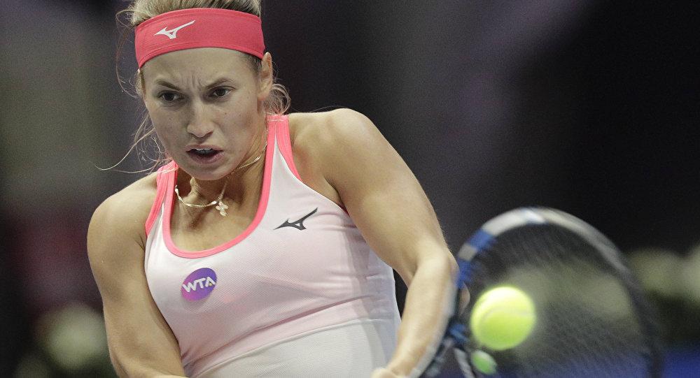 Теннисистка Юлия Путинцева, архивное фото