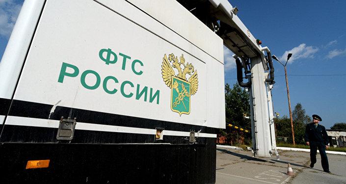 Архивное фото автомобильного пункта пропуска Пограничный в Приморском крае