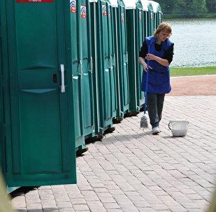Общественный туалет. Архивное фото