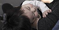 Спящий ребенок, архивное фото