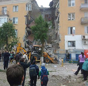 Волгоградта тұрғын үйде газ жарылды