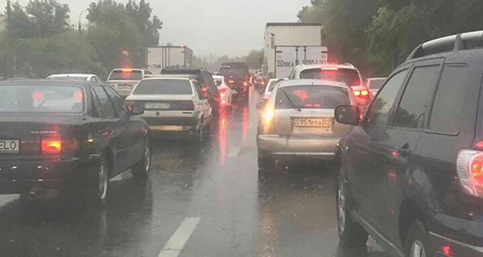Ливень в Алматы