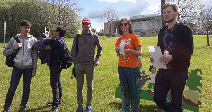 Студенты из Казахстана на фестивале в Германии