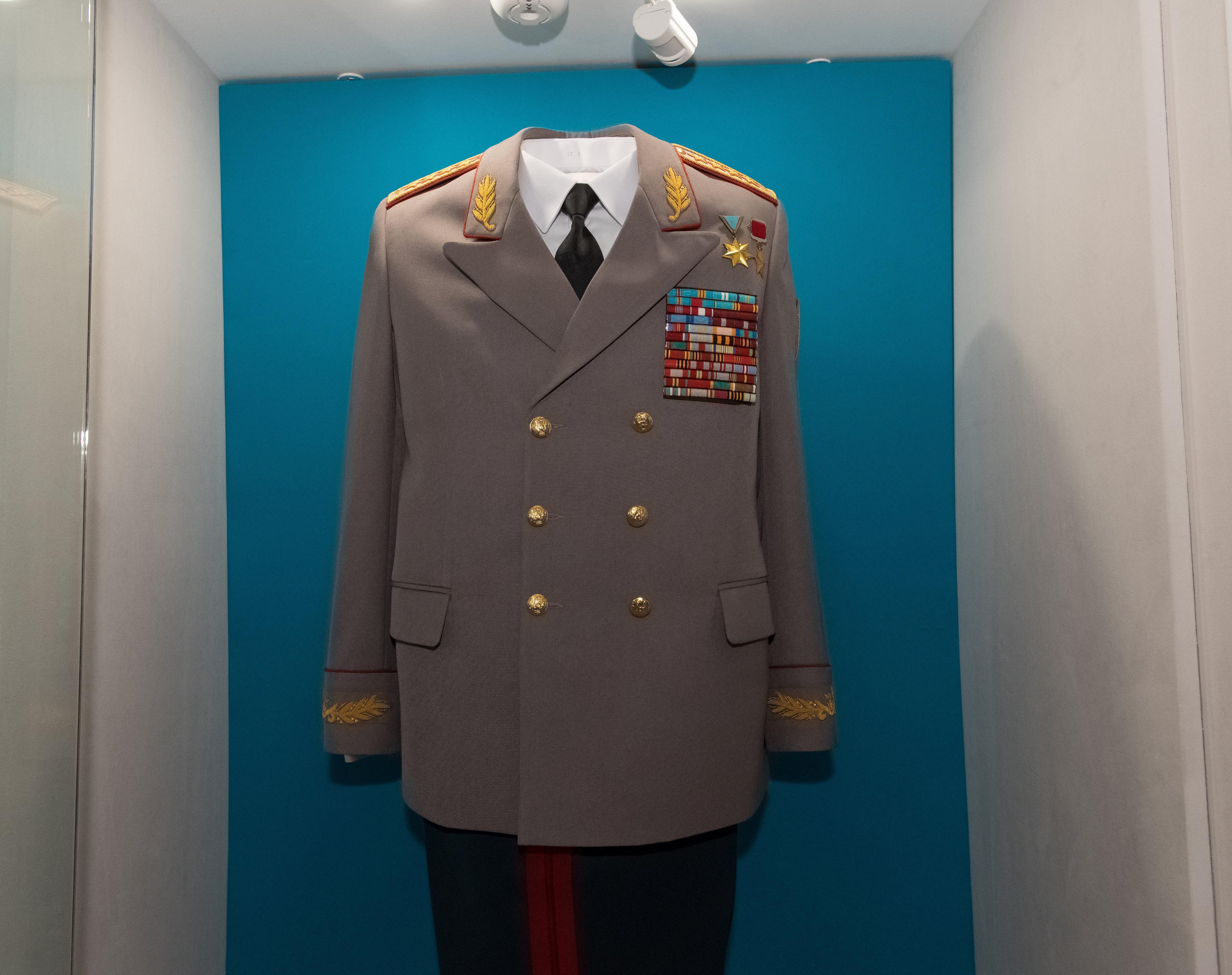 Экспонаты Военно-исторического музея в Астане
