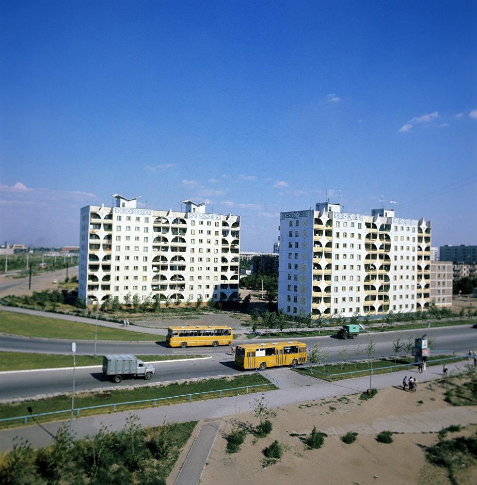 Новый жилой квартал в городе Экибастузе