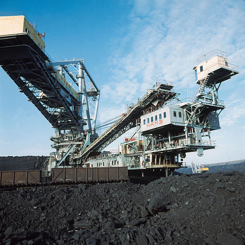 Трест Экибастуз-уголь. Архивное фото