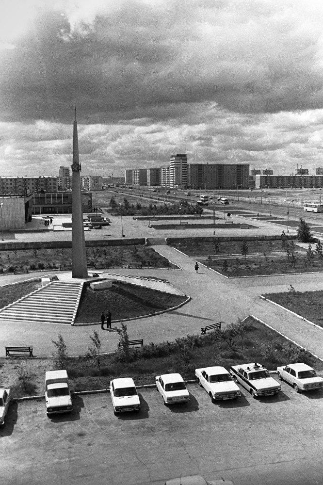 Город Экибастуз. Архивное фото