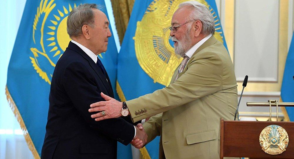Нурсултан Назарбаев и Асанали Ашимов