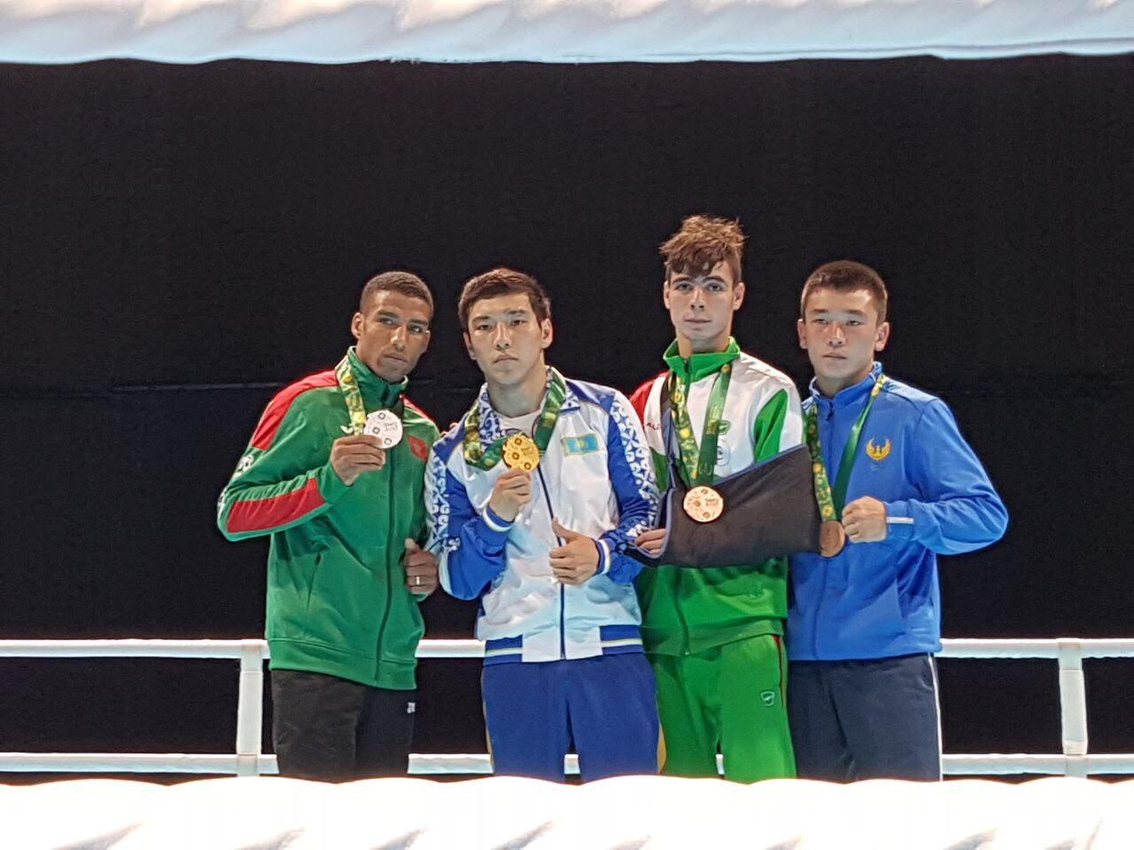 Азат Махметов завоевал золото на Исламиаде в Баку