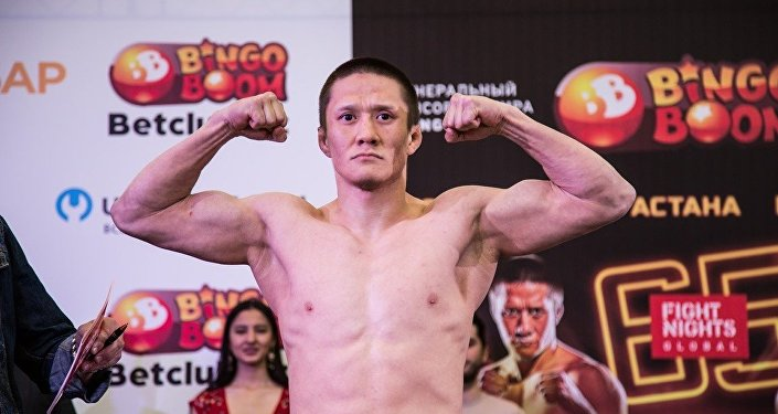 Боец MMA Жалгас Жумагулов