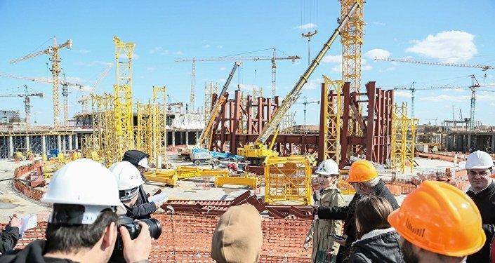 Строительство объектов ЭКСПО-2017 в Астане
