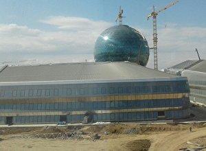 Здание международной выставки ЭКСПО-2017 в Астане