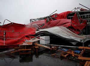 Тайфун Меги в Тайване