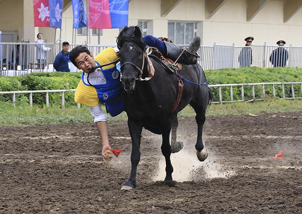 Национальные виды спорта - кумис алу
