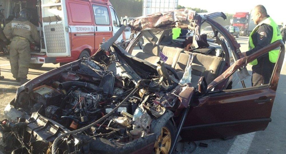 Две жизни унесла кошмарная авария натрассе вЧелябинской области