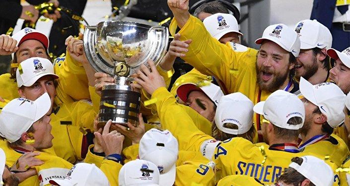 Швеция стала чемпионом мира по хоккею